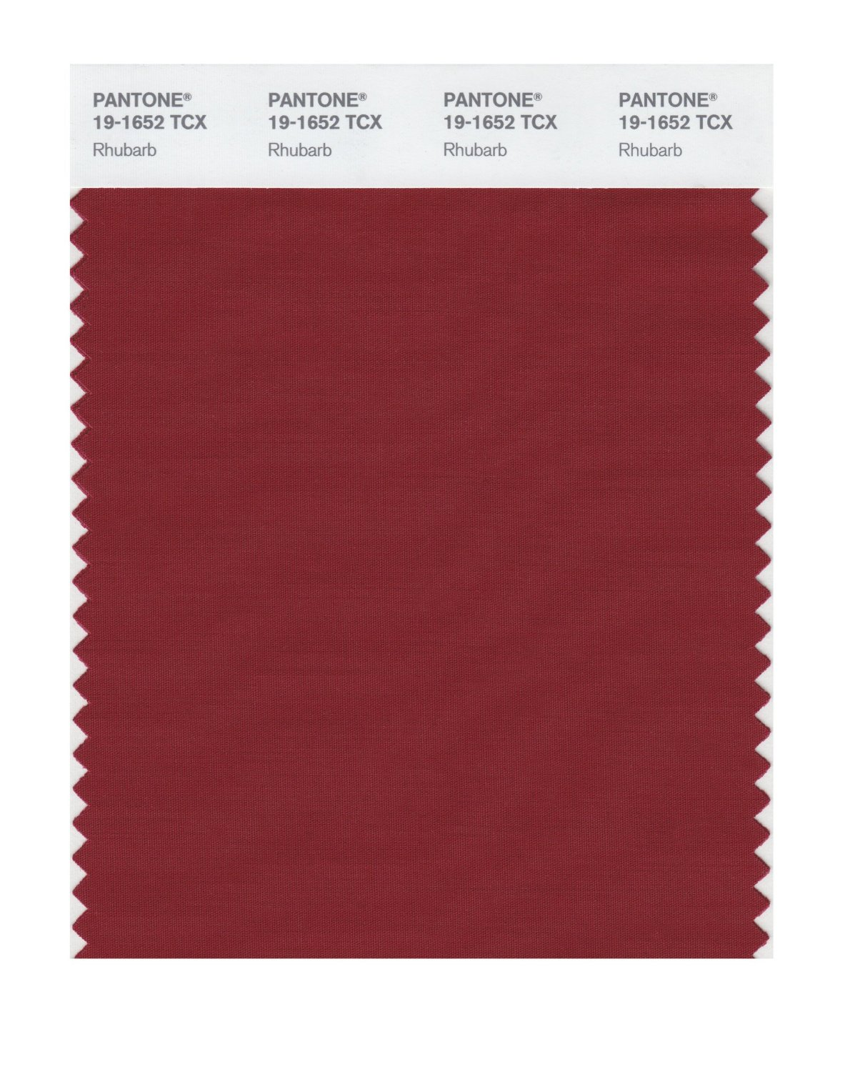 Pantone Smart Swatch 19-1652 Rhubarb