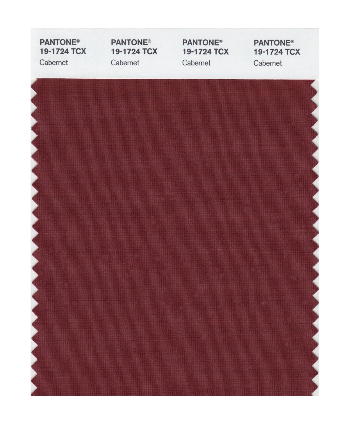 Pantone Smart Swatch 19-1724 Cabernet