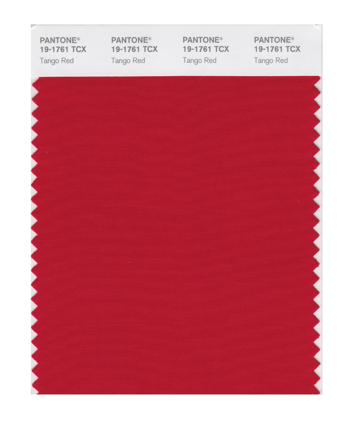 Pantone Smart Swatch 19-1761 Tango Red