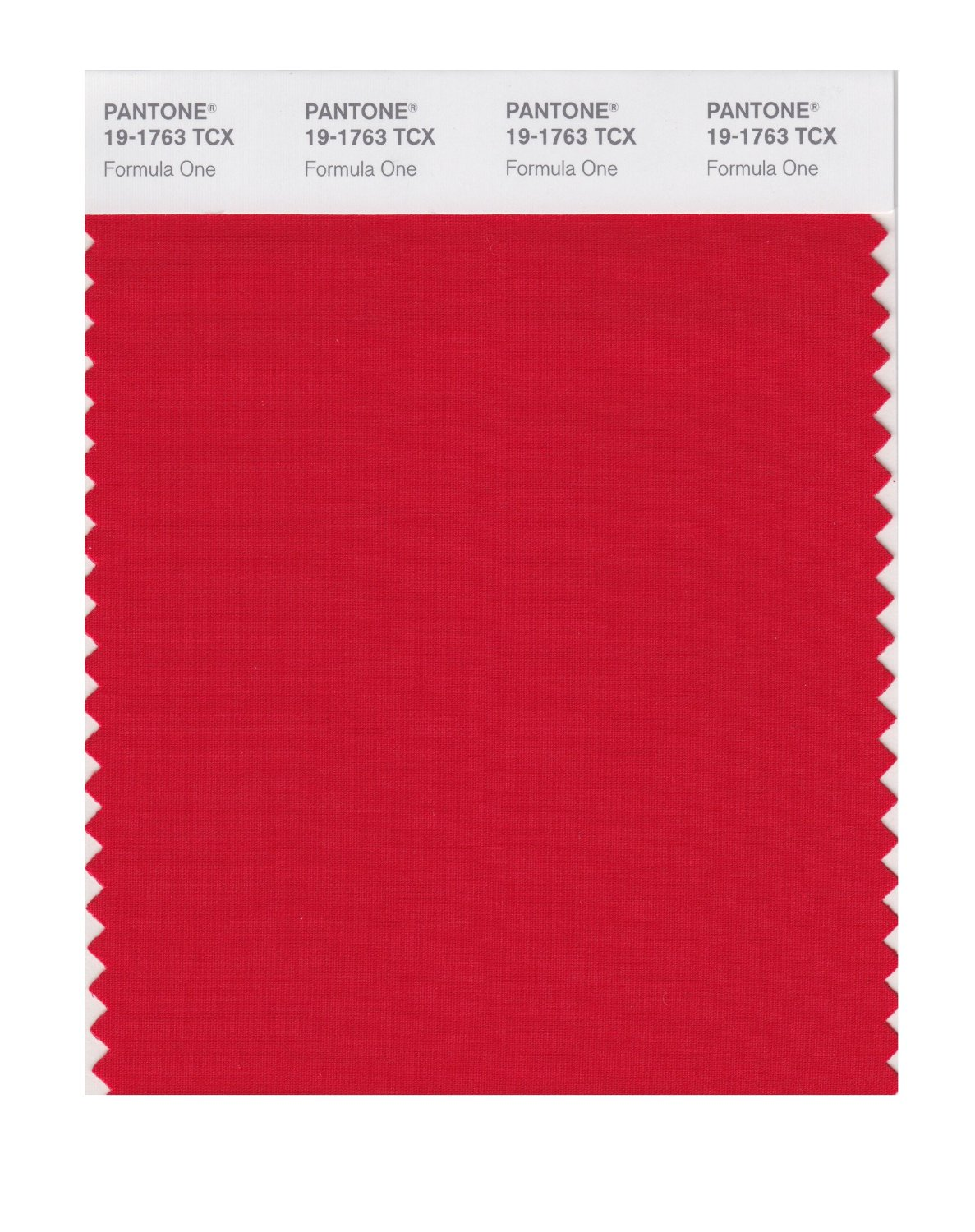 Pantone Smart Swatch 19-1763 Racing Red