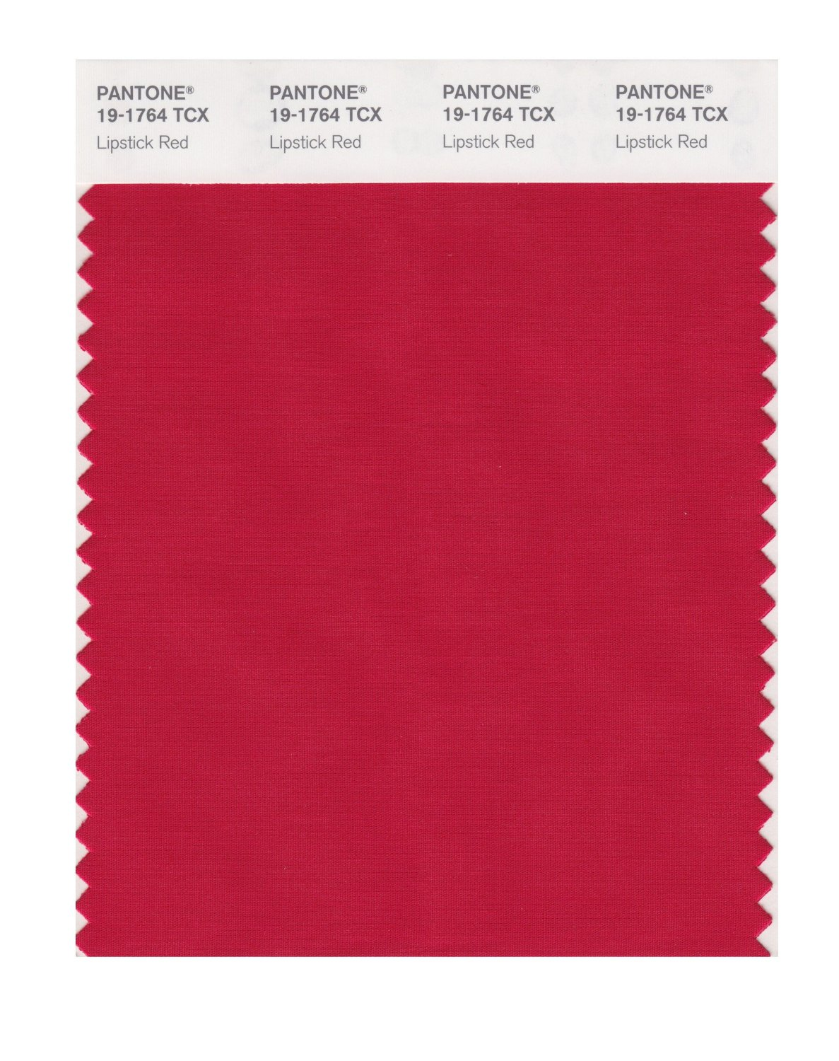 Pantone Smart Swatch 19-1764 Lipstick Red