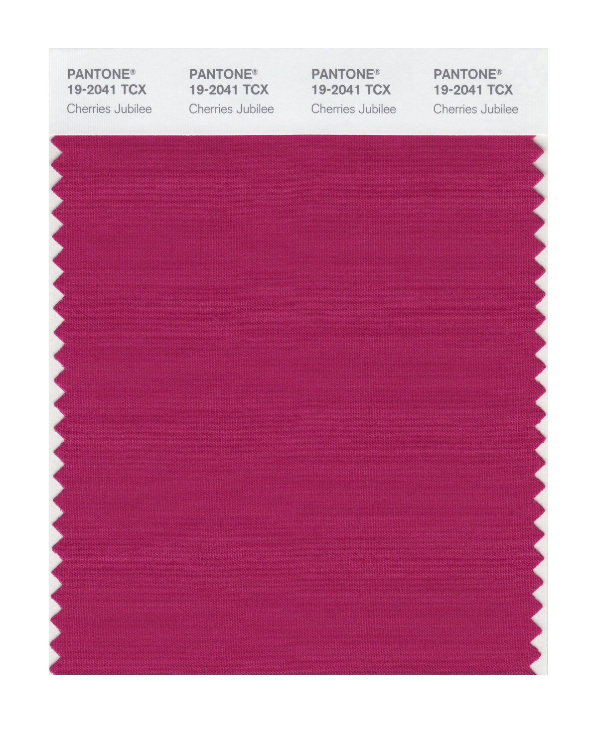 Pantone Smart Swatch 19-2041 Cherries Jubilee