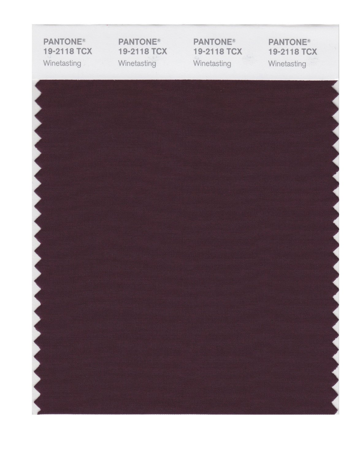 Pantone Smart Swatch 19-2118 Winetasting
