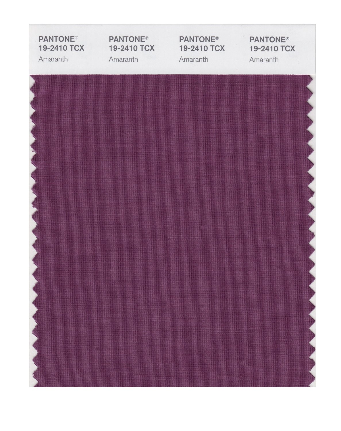 Pantone Smart Swatch 19-2410 Amaranth