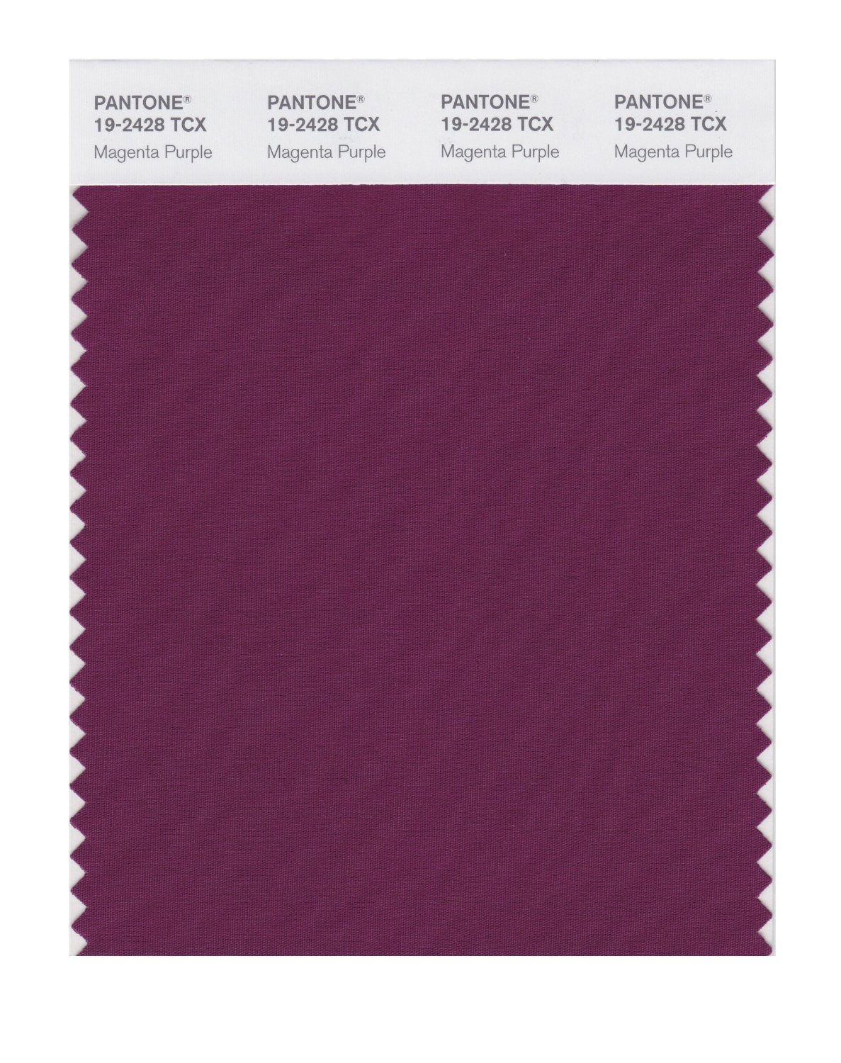 Pantone Smart Swatch 19-2428 Magenta Purple