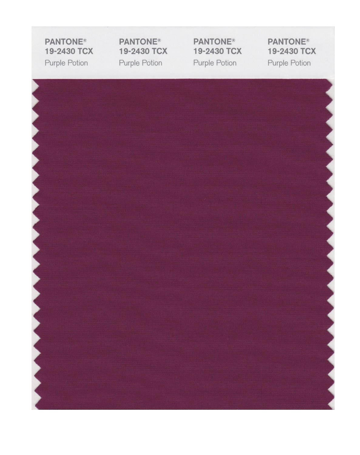 Pantone Smart Swatch 19-2430 Purple Potion