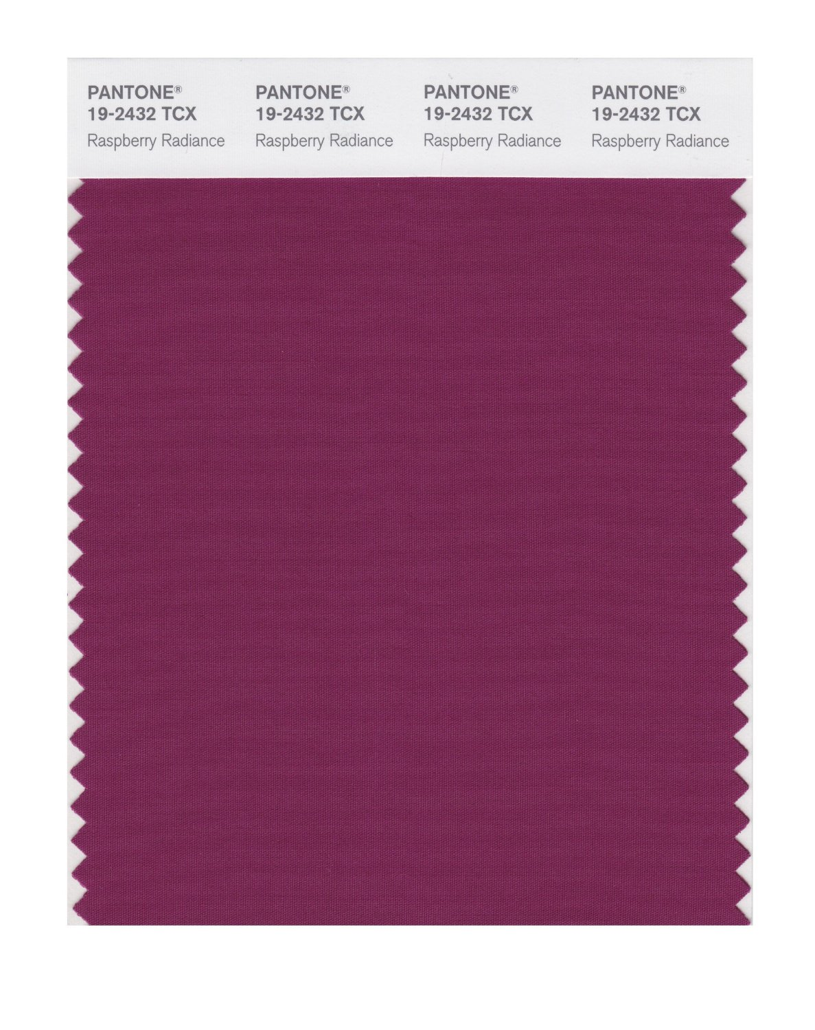 Pantone Smart Swatch 19-2432 Raspberry Radinc