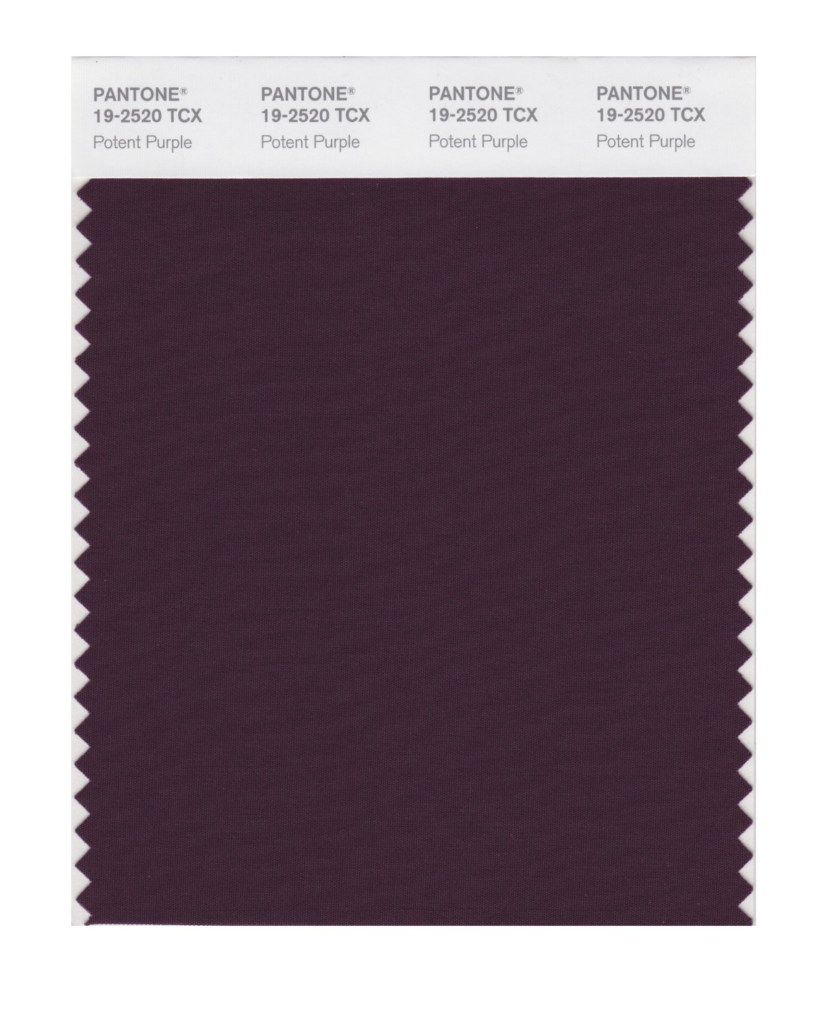 Pantone Smart Swatch 19-2520 Potent Purple