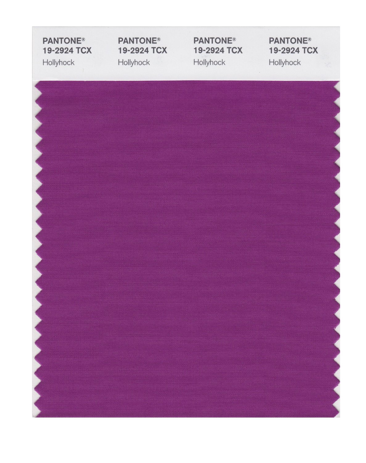 Pantone Smart Swatch 19-2924 Holly Hock