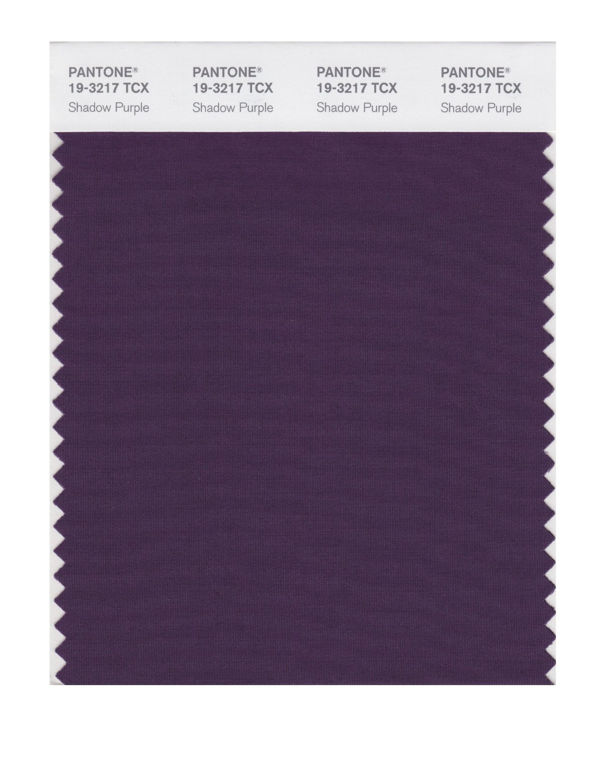Pantone Smart Swatch 19-3217 Shadow Purple