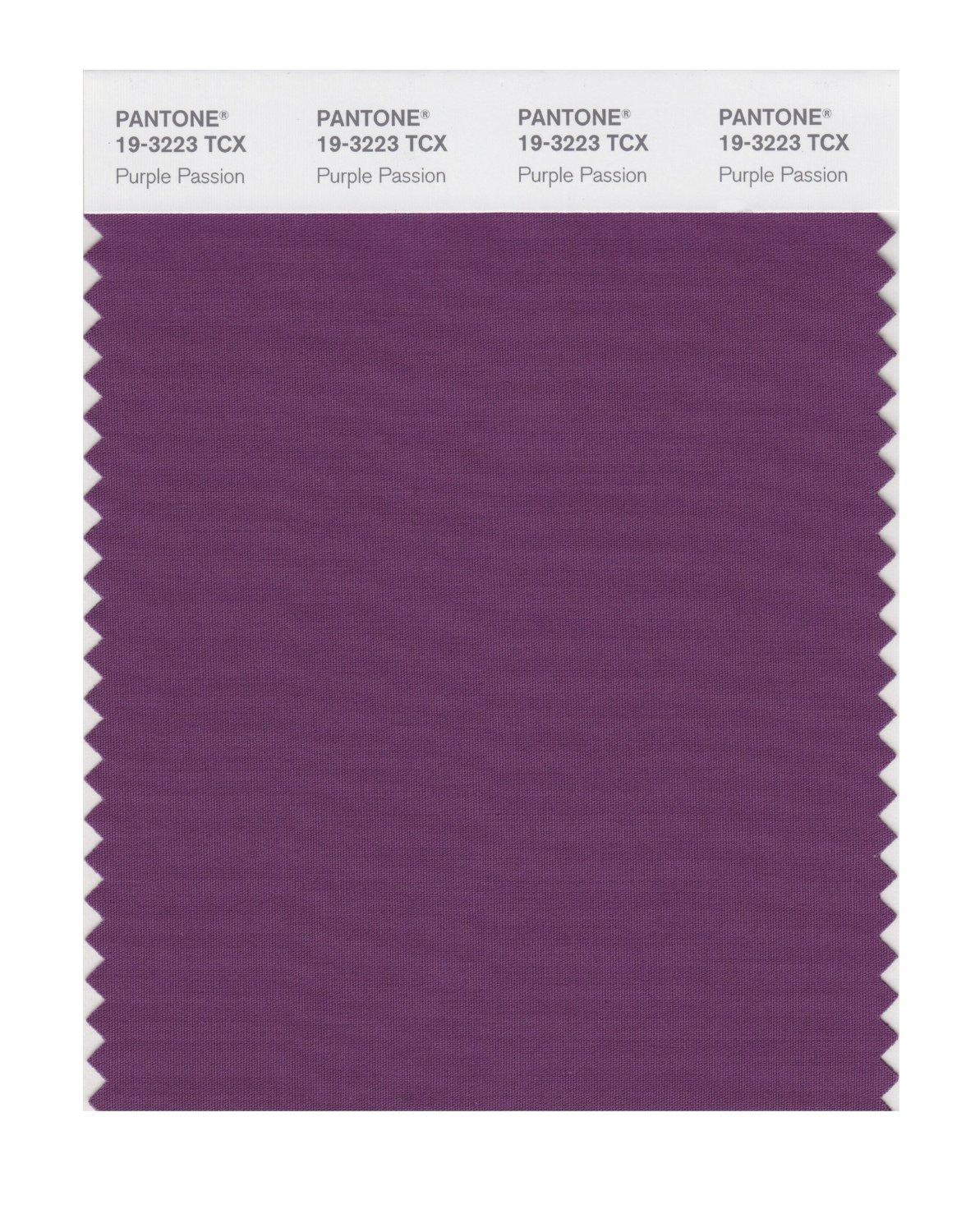 Pantone Smart Swatch 19-3223 Purple Passion