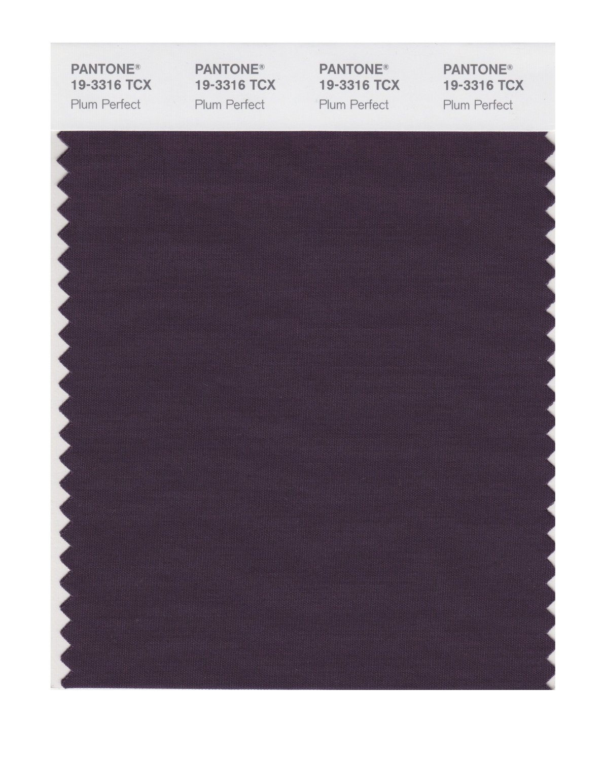 Pantone Smart Swatch 19-3316 Plum Perfect