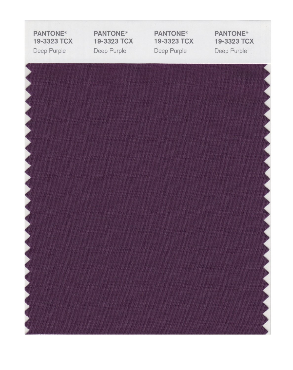 Pantone Smart Swatch 19-3323 Deep Purple