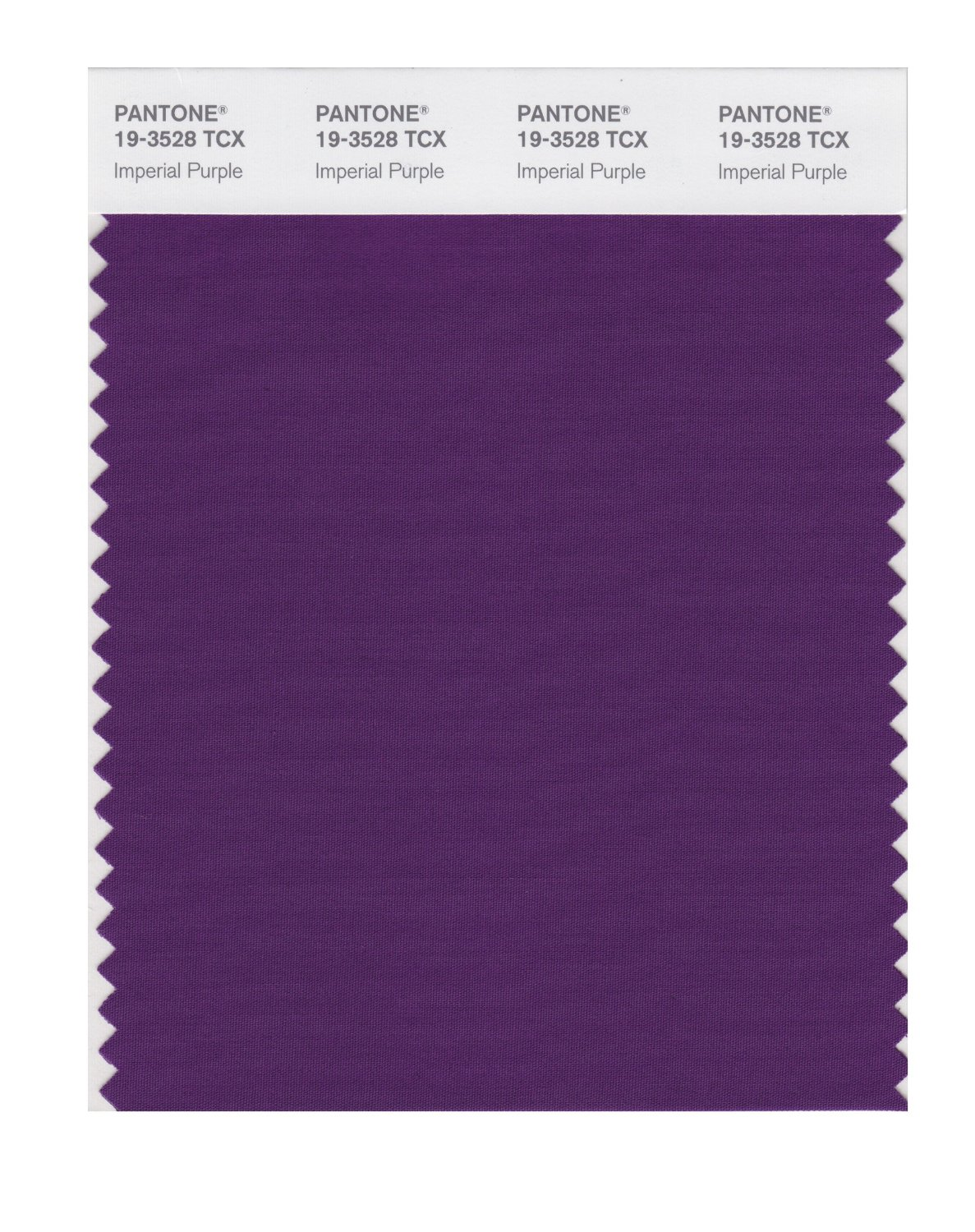 Pantone Smart Swatch 19-3528 Imperial Purple
