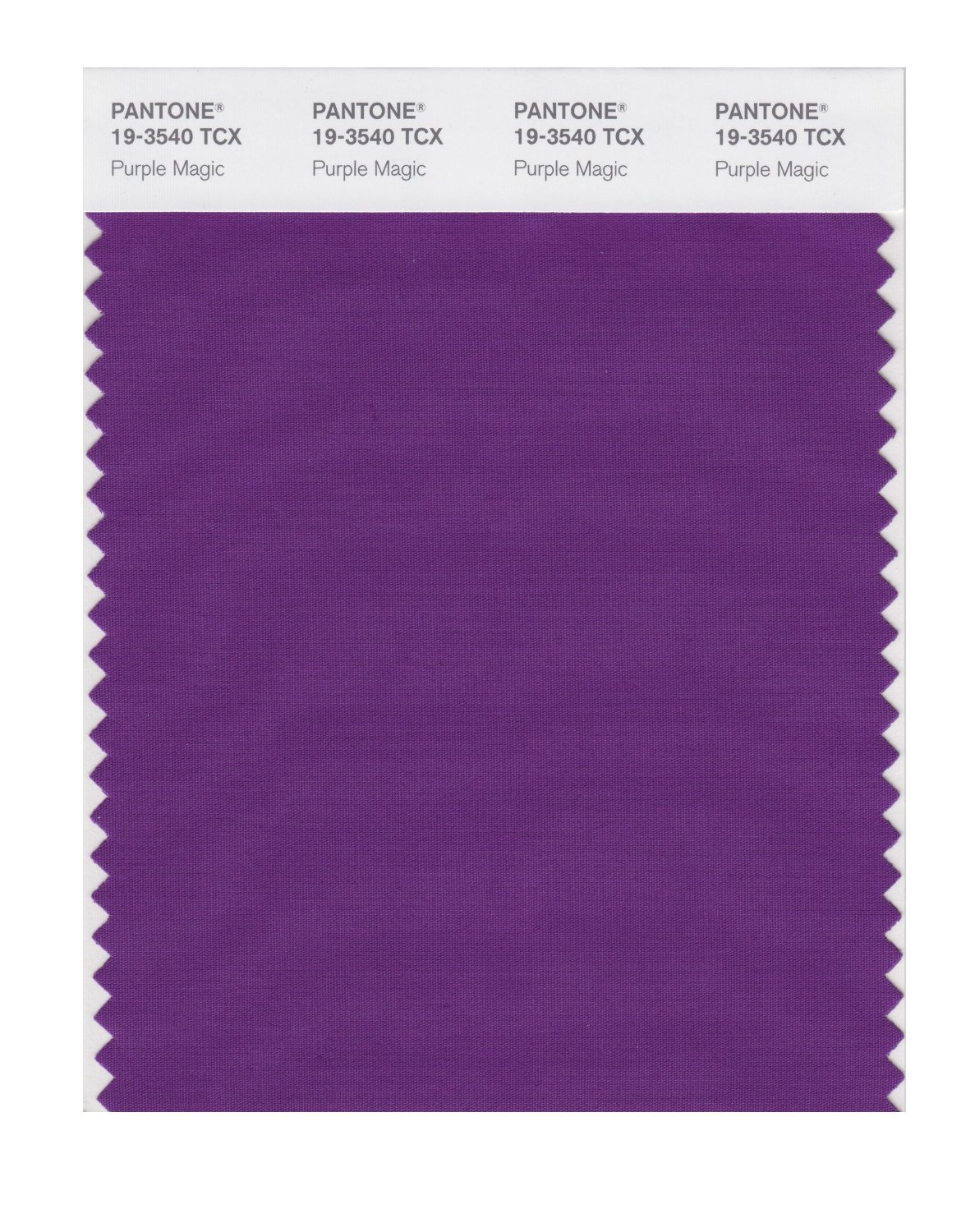 Pantone Smart Swatch 19-3540 Purple Magic