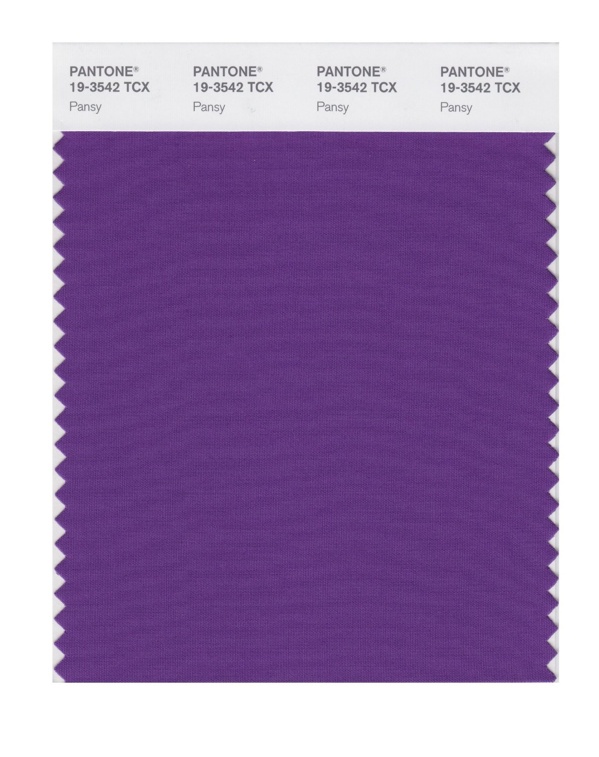 Pantone Smart Swatch 19-3542 Pansy