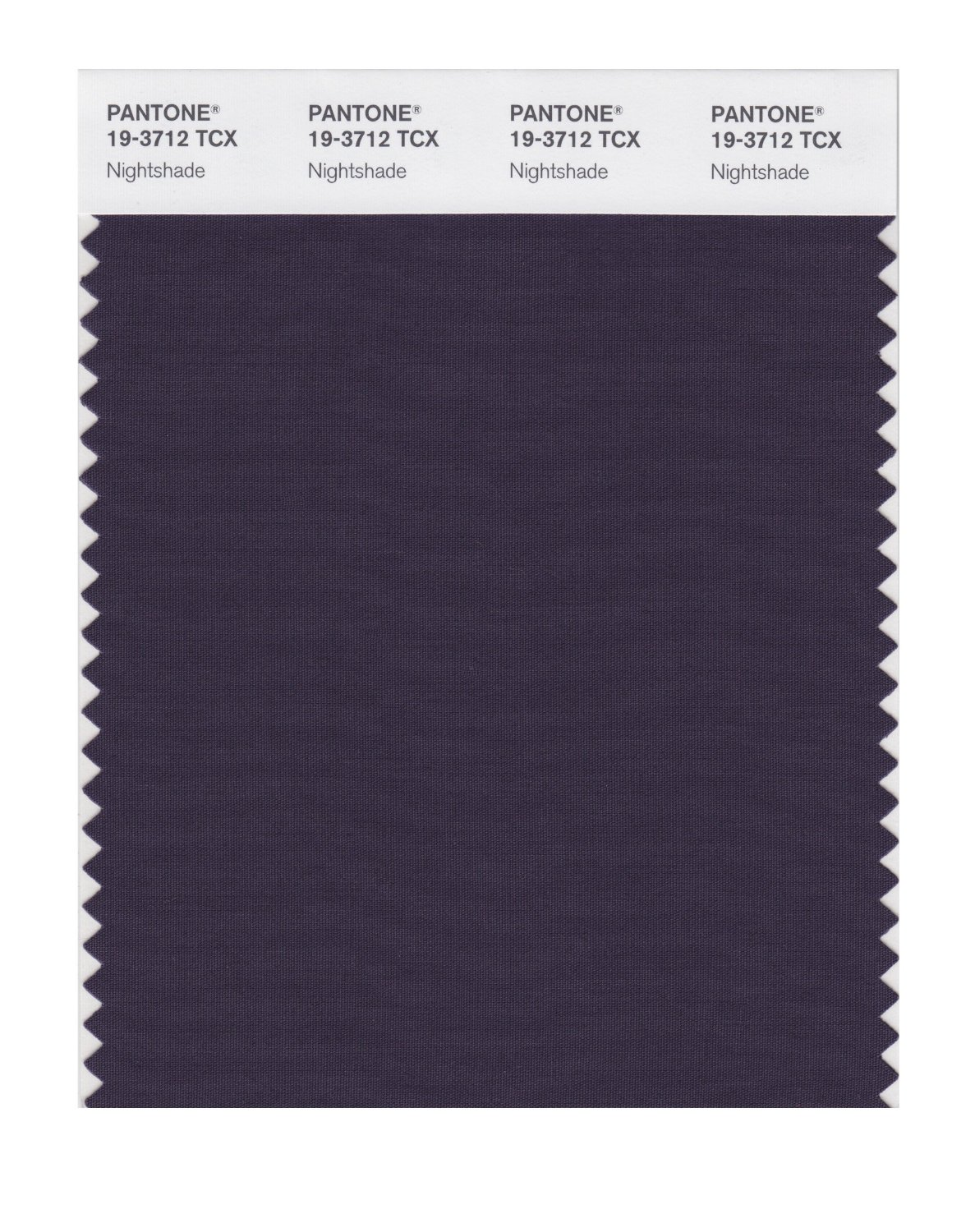 Pantone Smart Swatch 19-3712 Nightshade