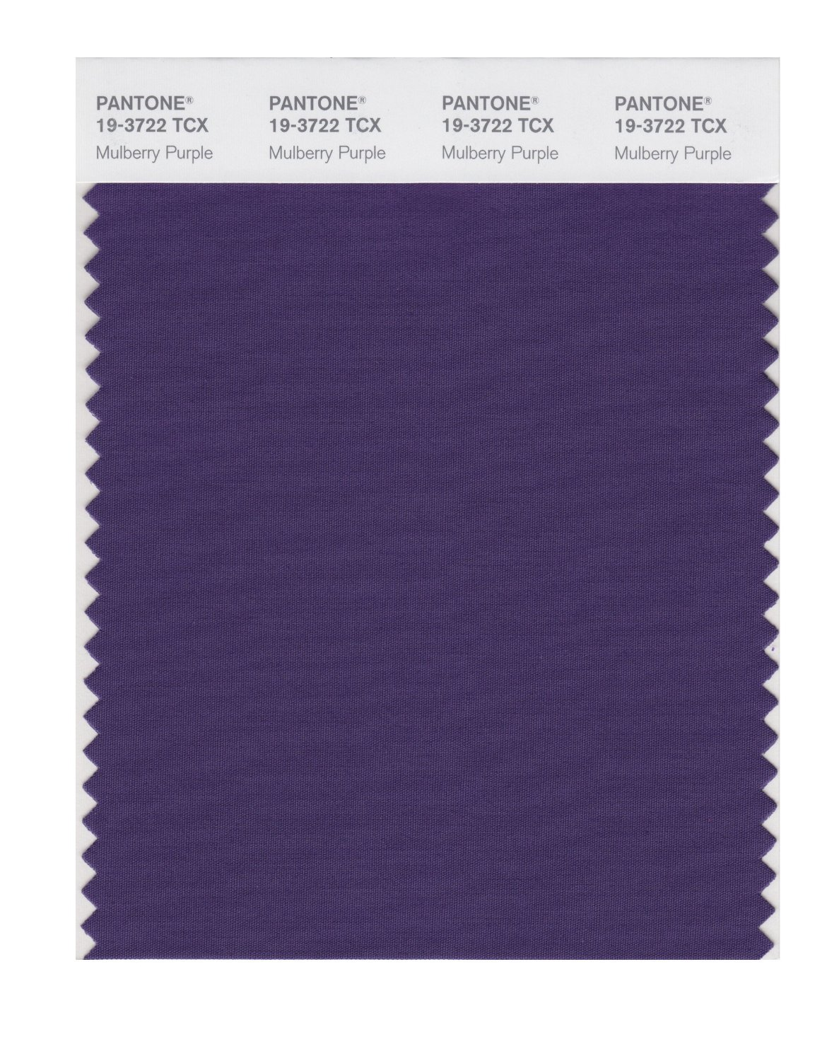 Pantone Smart Swatch 19-3722 Mulberry Purple
