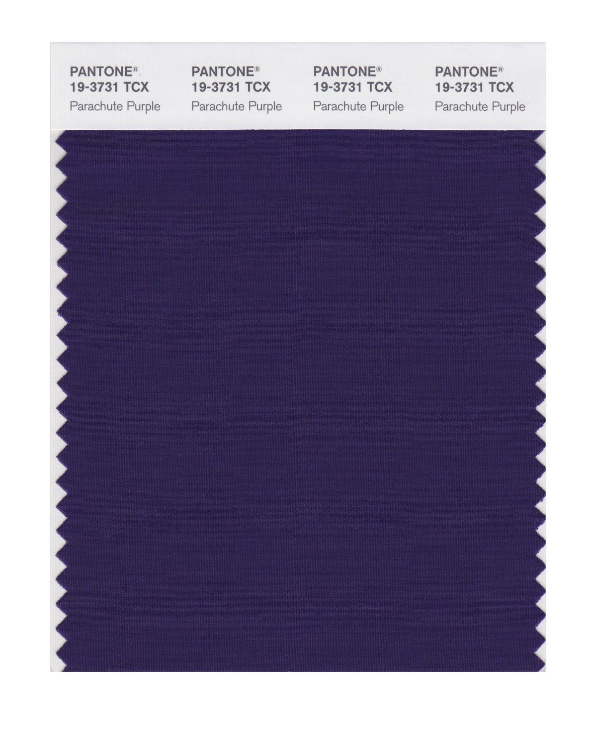 Pantone Smart Swatch 19-3731 Parachute Purple