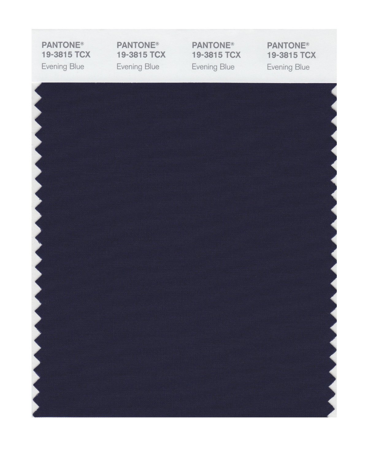 Pantone Smart Swatch 19-3815 Evening Blue