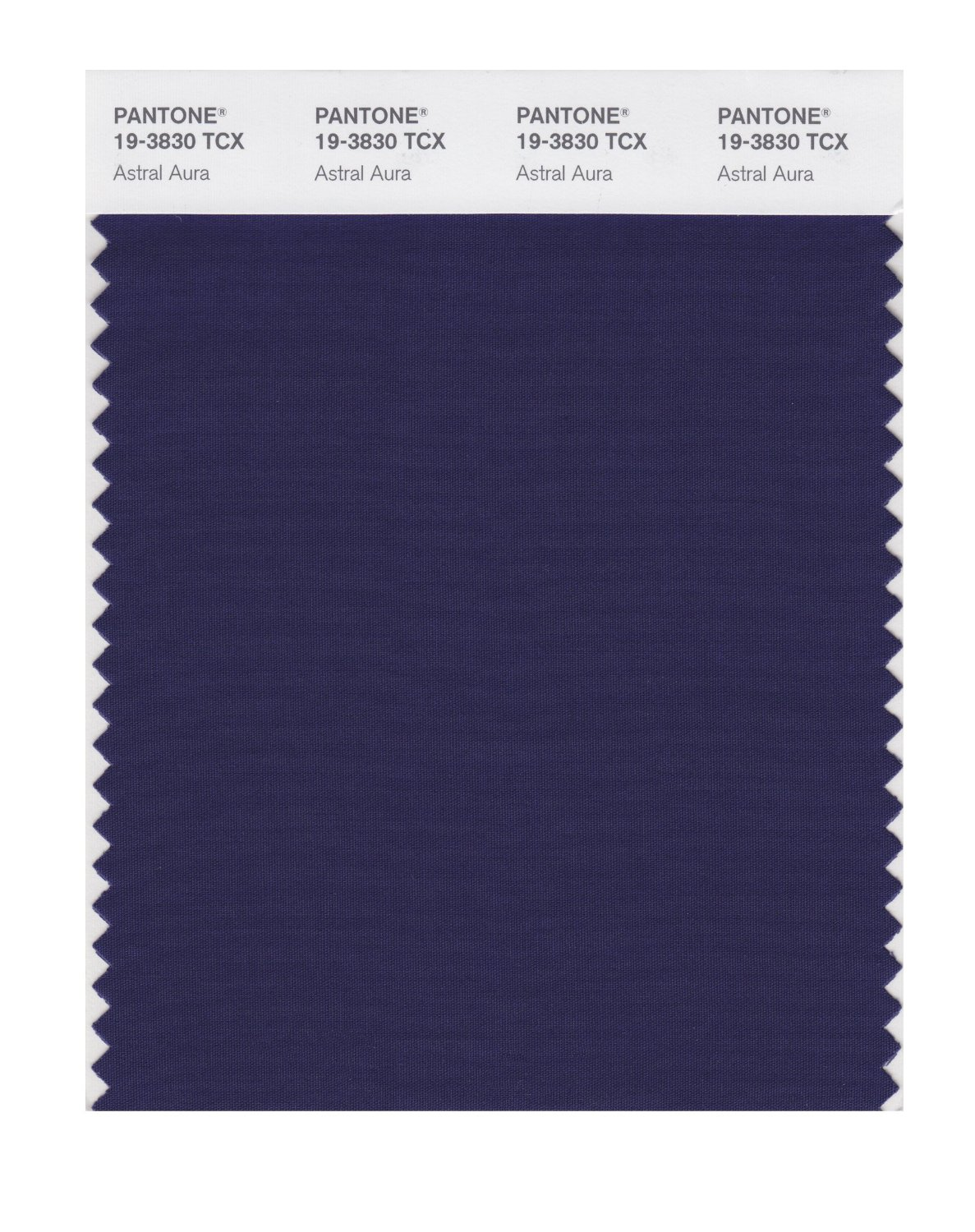 Pantone Smart Swatch 19-3830 Astral Aura