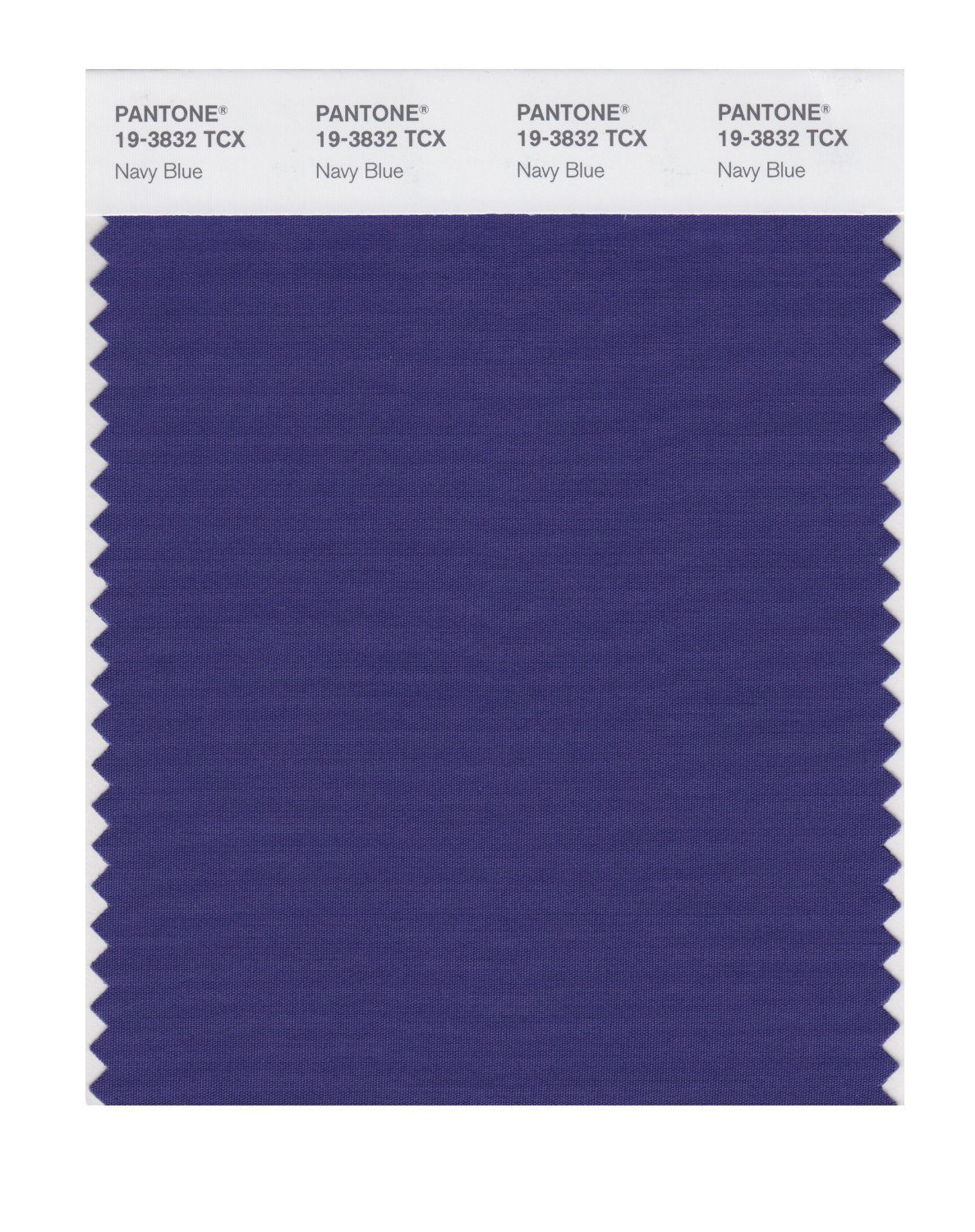 Pantone Smart Swatch 19-3832 Navy Blue