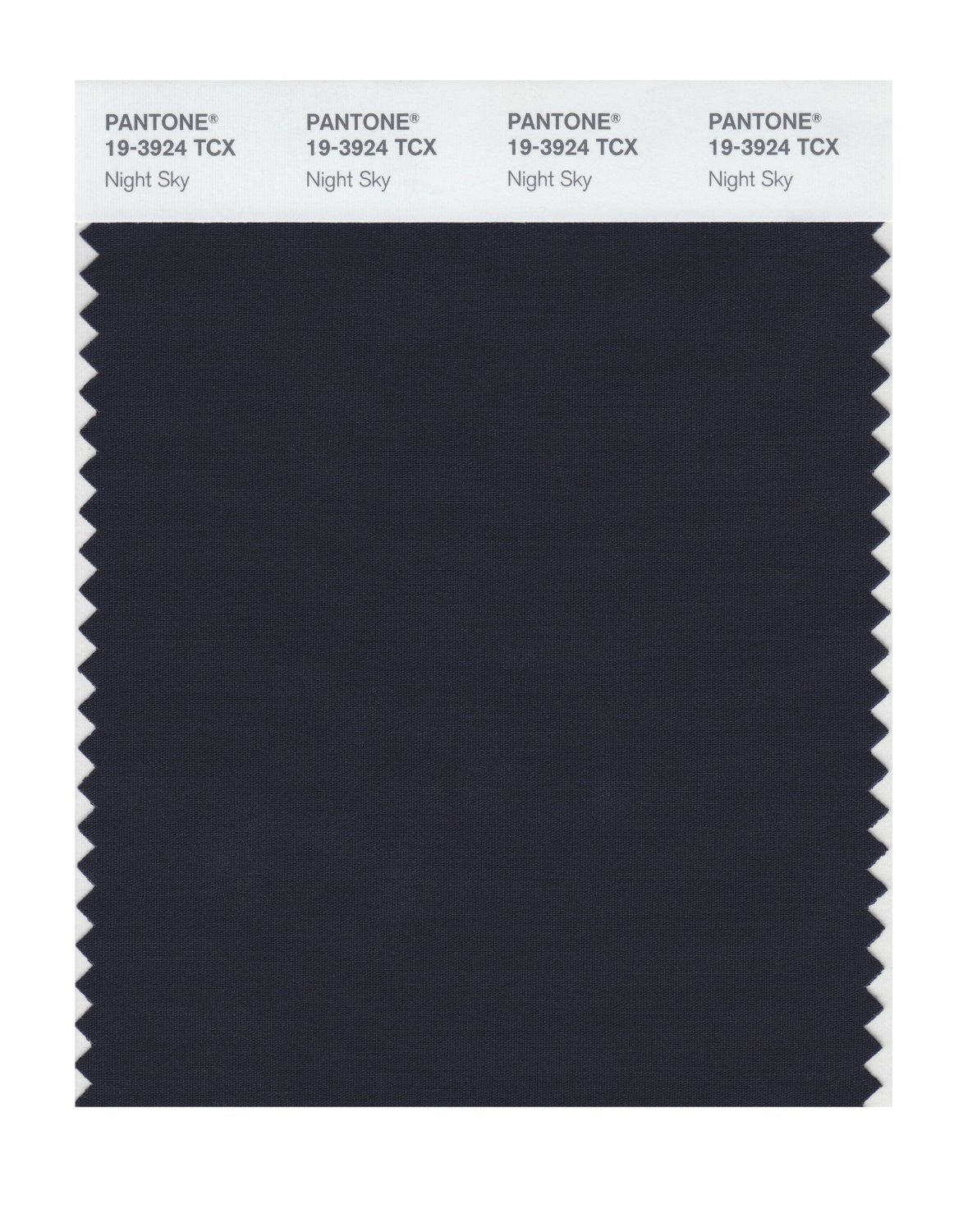 Pantone Smart Swatch 19-3924 Night Sky