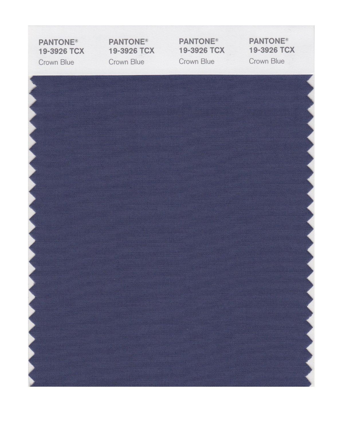 Pantone Smart Swatch 19-3926 Crown Blue