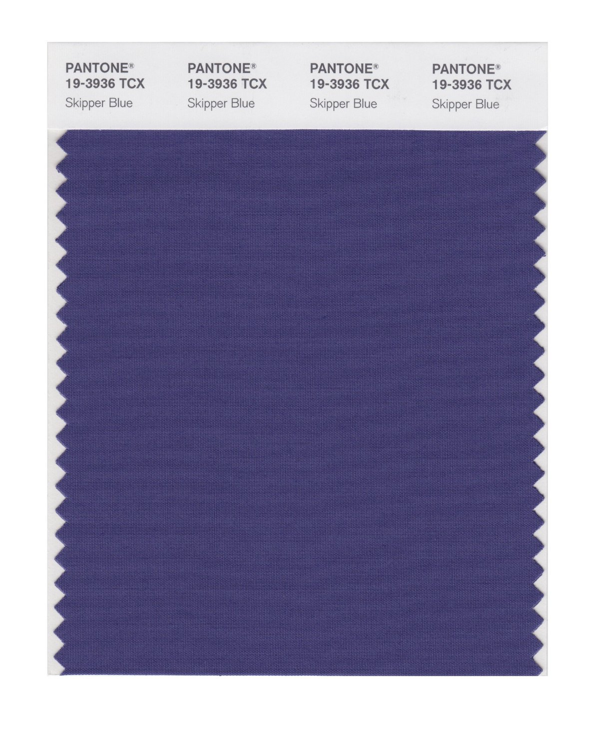Pantone Smart Swatch 19-3936 Skipper Blue
