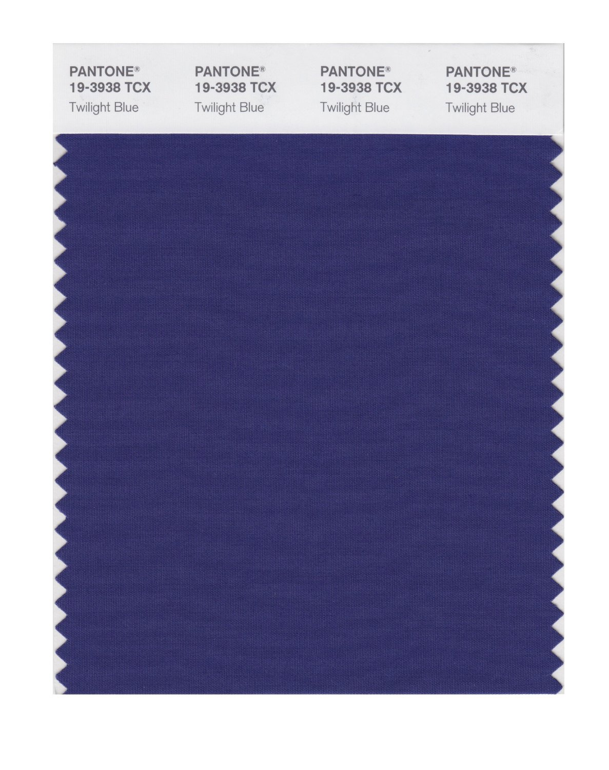 Pantone Smart Swatch 19-3938 Twilight Blue