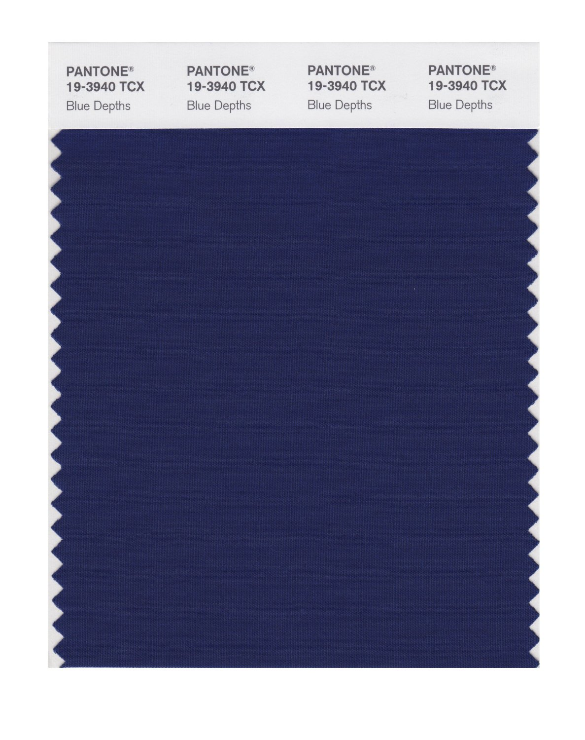 Pantone Smart Swatch 19-3940 Blue Depths
