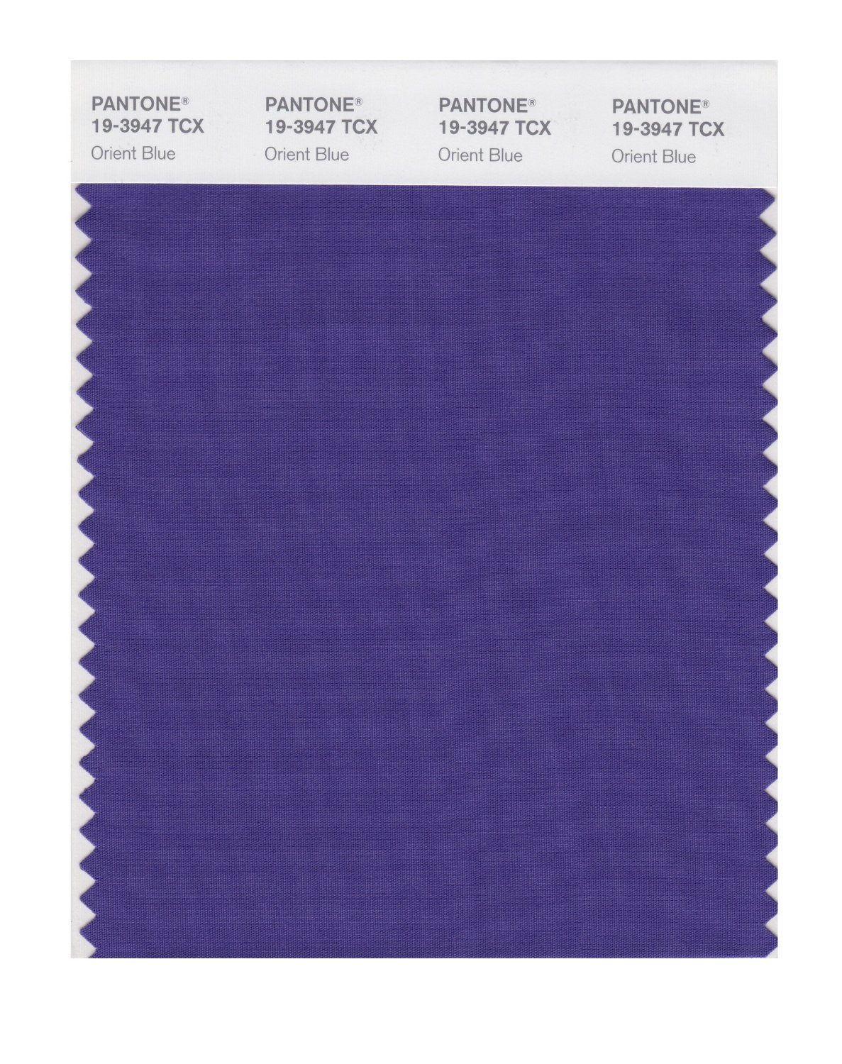 Pantone Smart Swatch 19-3947 Orient Blue