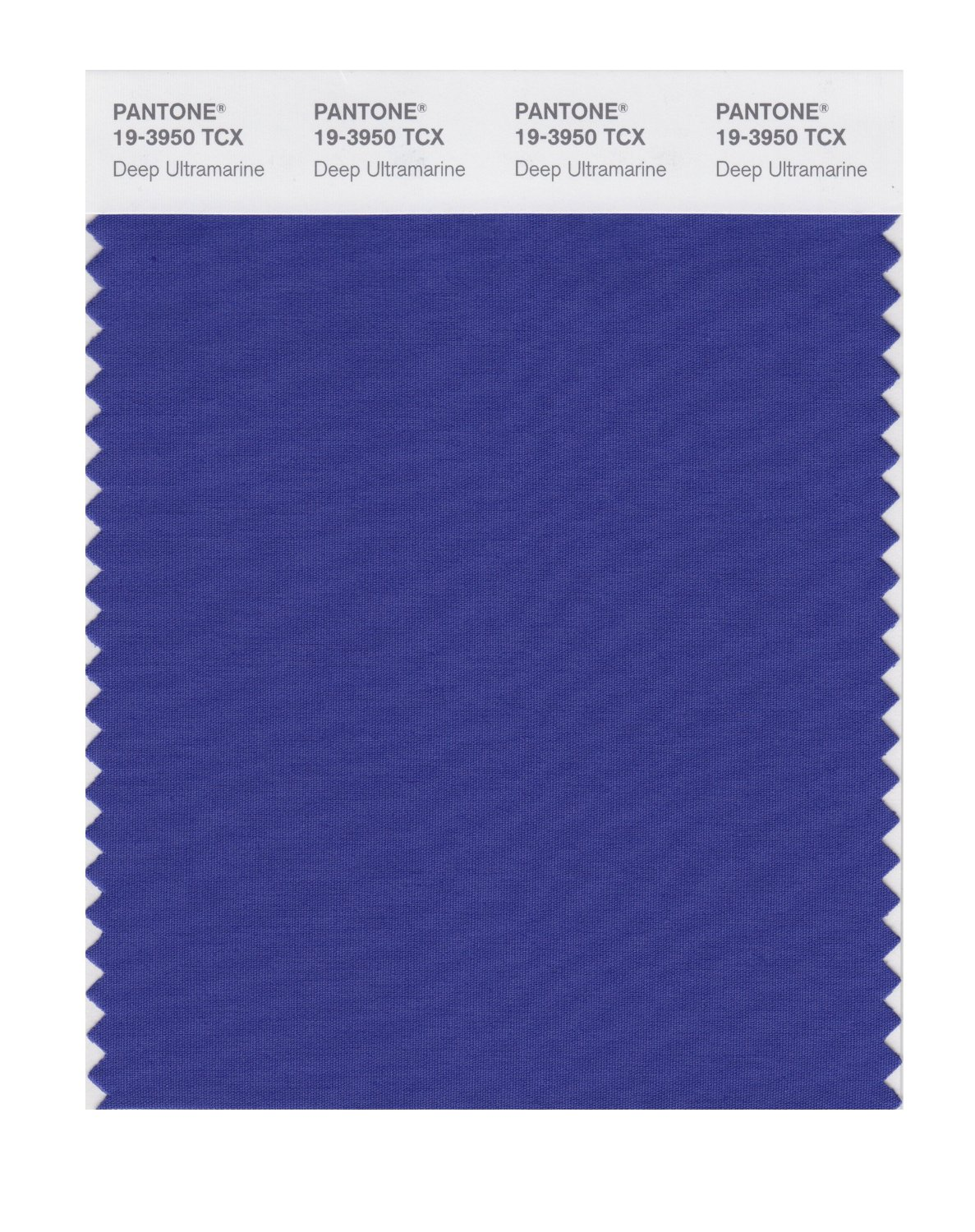 Pantone Smart Swatch 19-3950 Deep Ultramarine