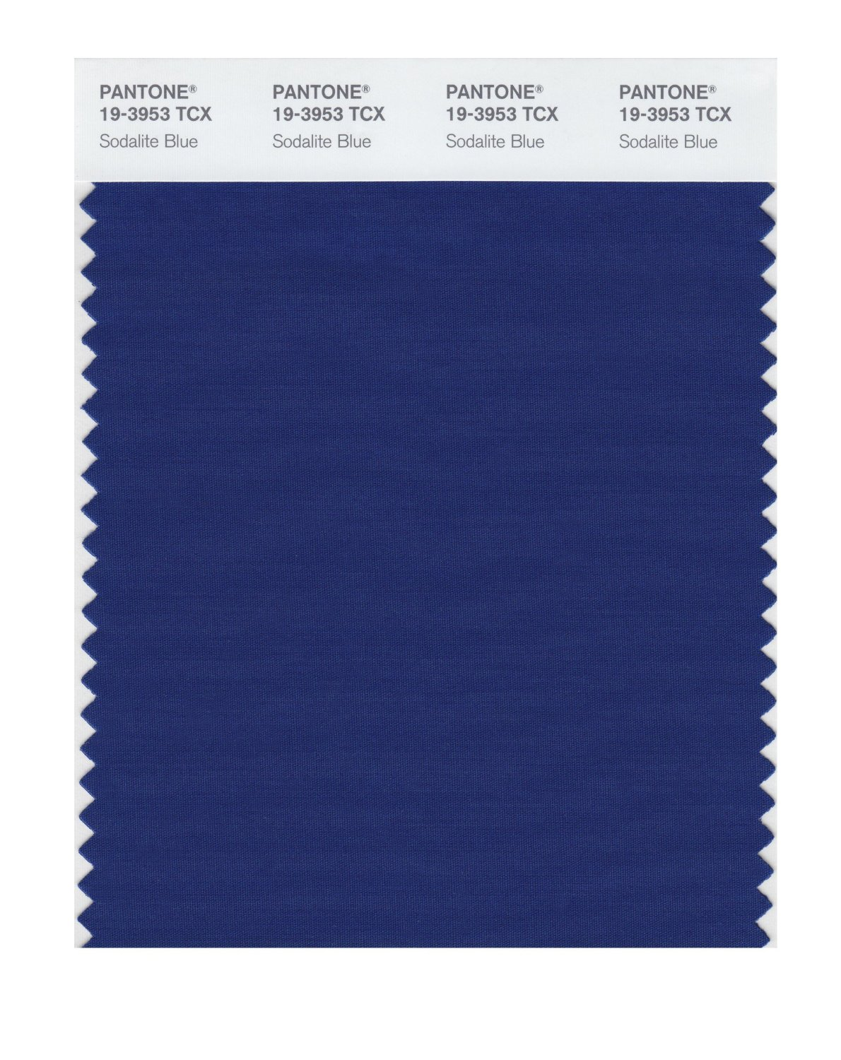 Pantone Smart Swatch 19-3953 Sodalite Blue