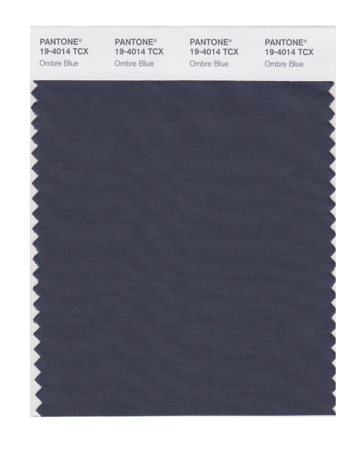Pantone Smart Swatch 19-4014 Ombre Blue