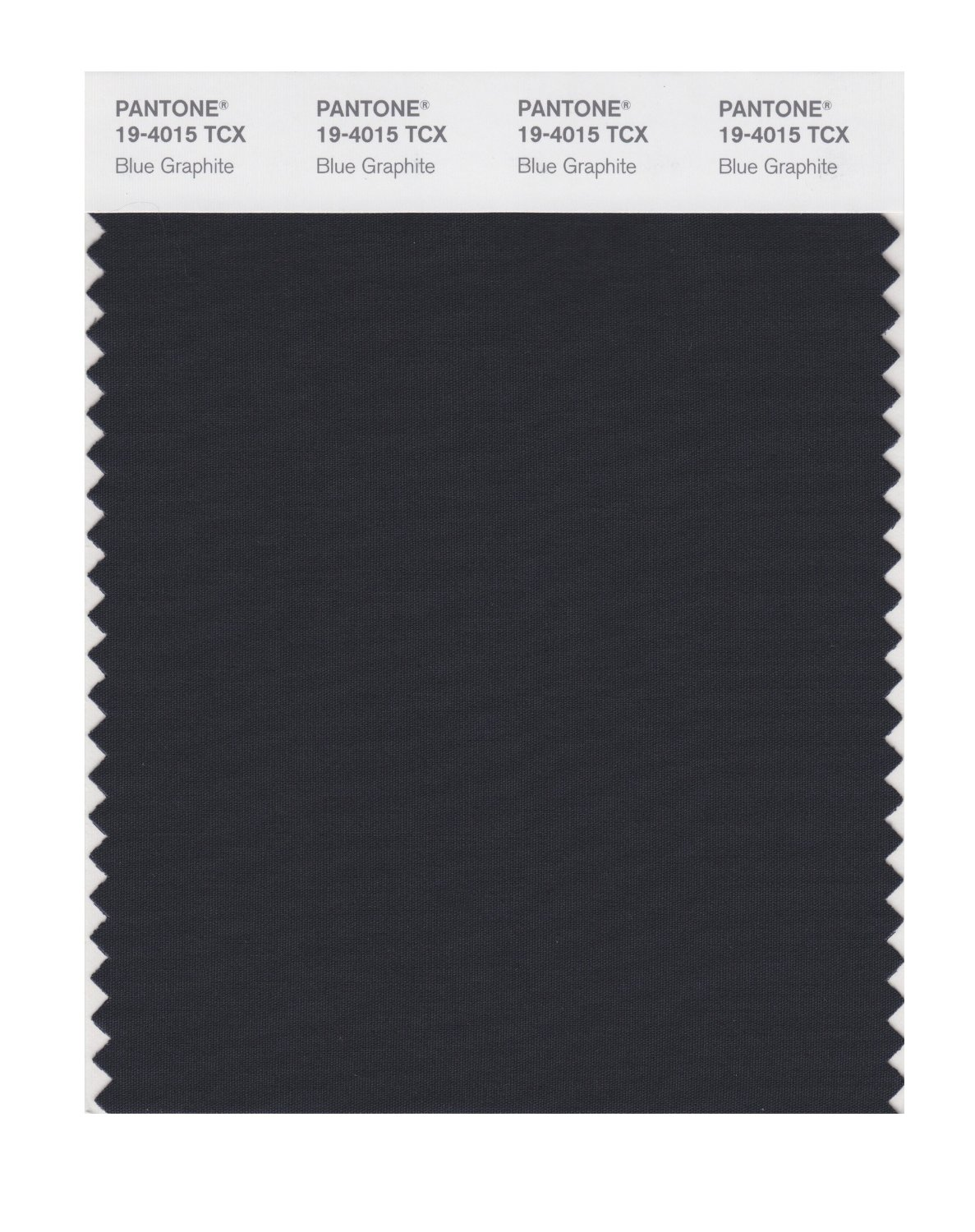 Pantone Smart Swatch 19-4015 Blue Graphite