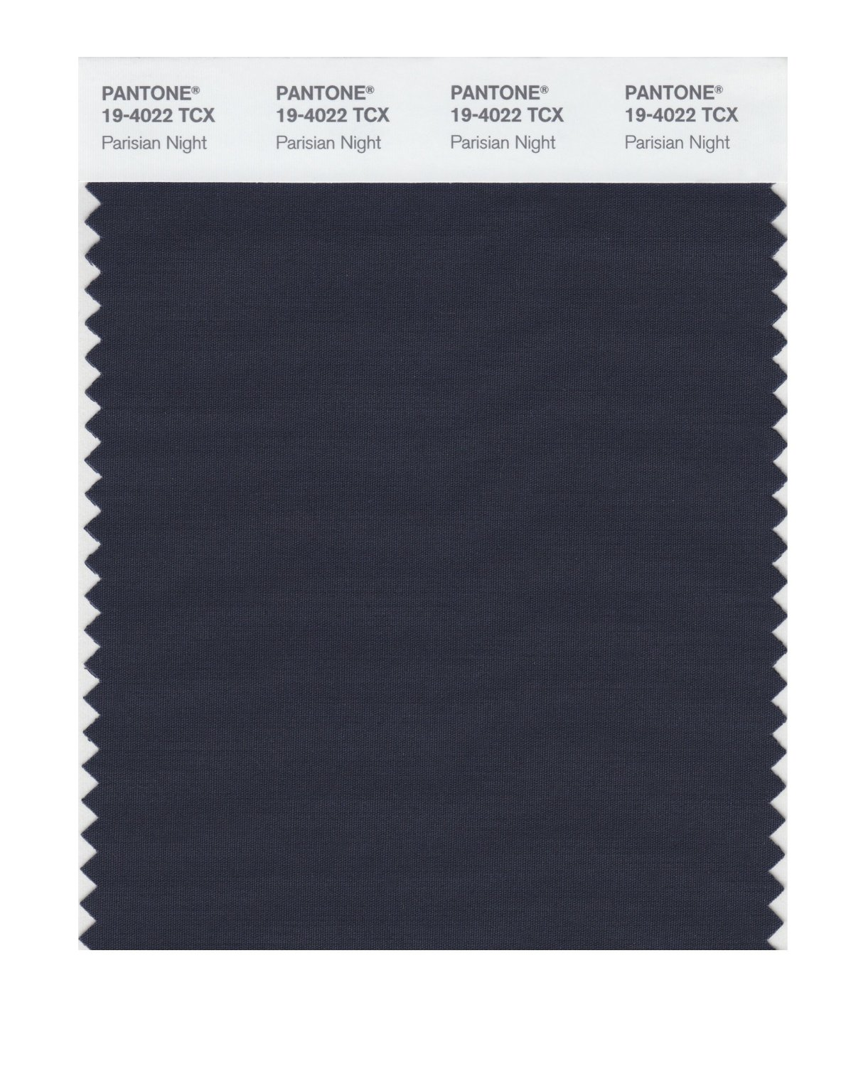 Pantone Smart Swatch 19-4022 Parisian Night