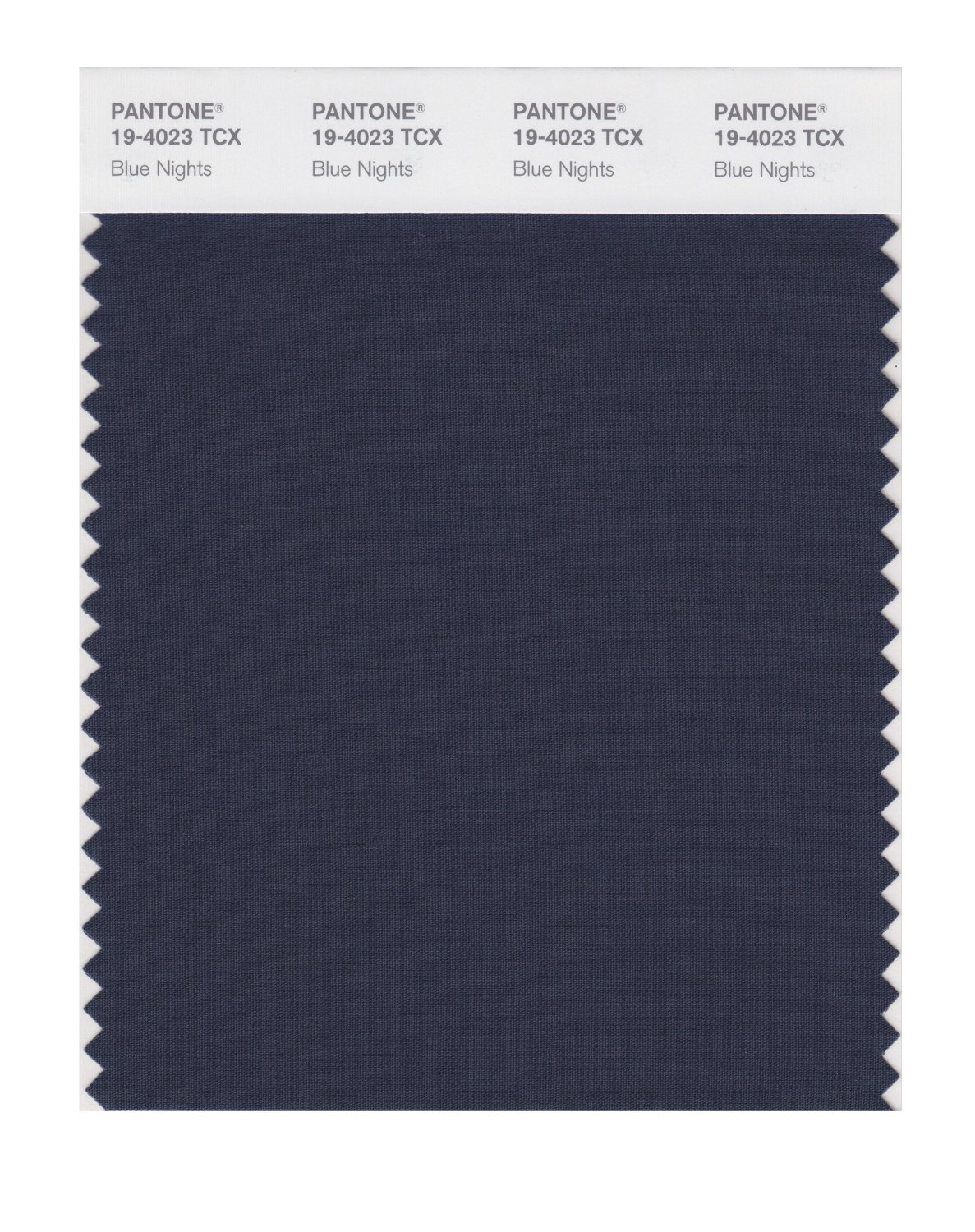 Pantone Smart Swatch 19-4023 Blue Nights
