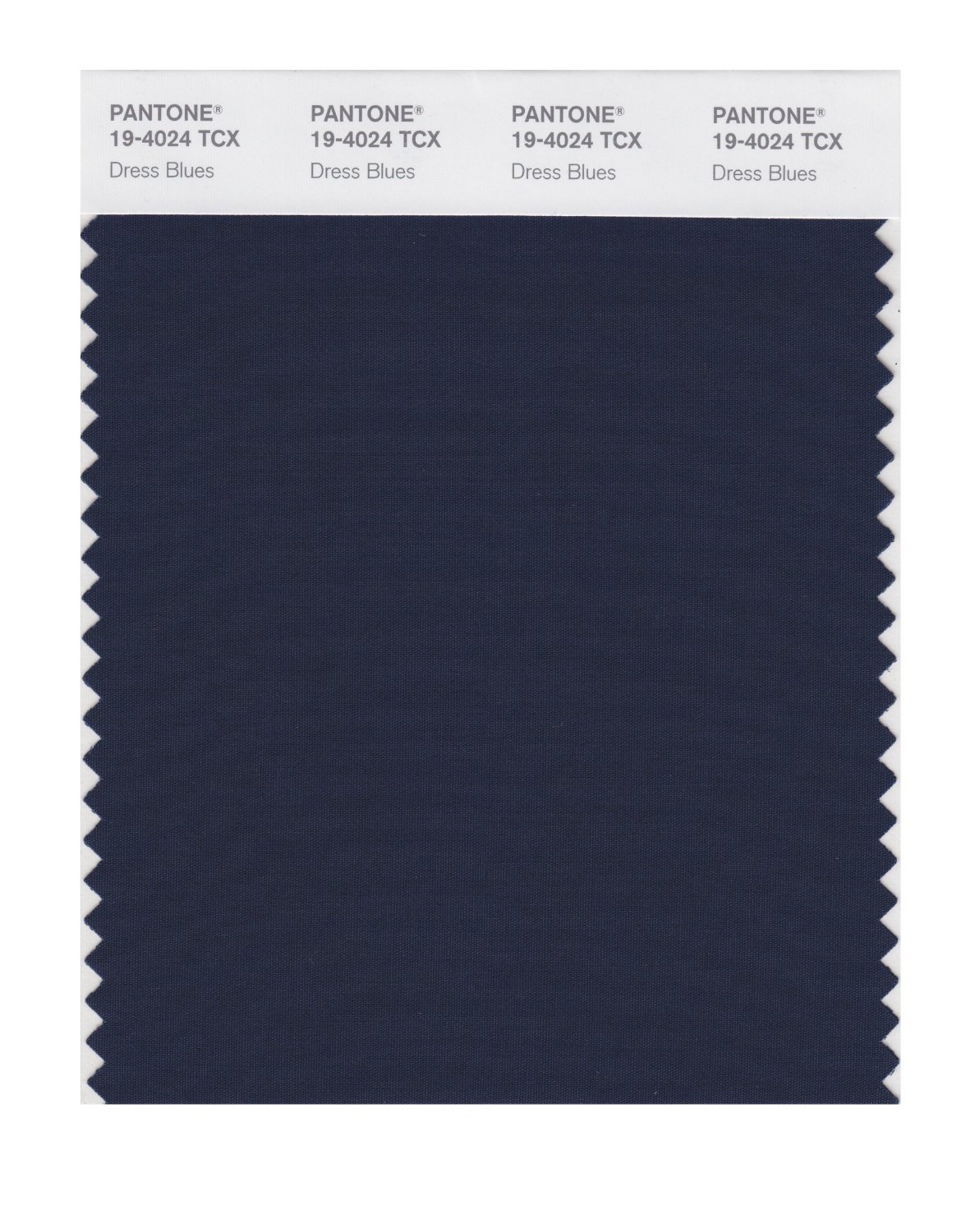 Pantone Smart Swatch 19-4024 Dress Blues