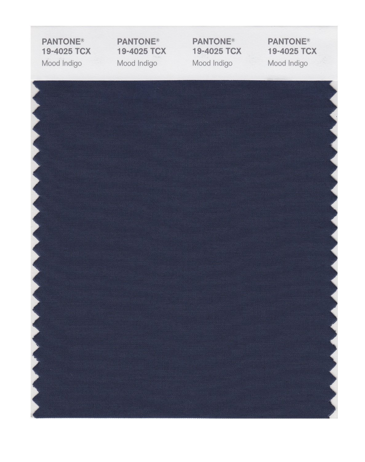 Pantone Smart Swatch 19-4025 Mood Indigo