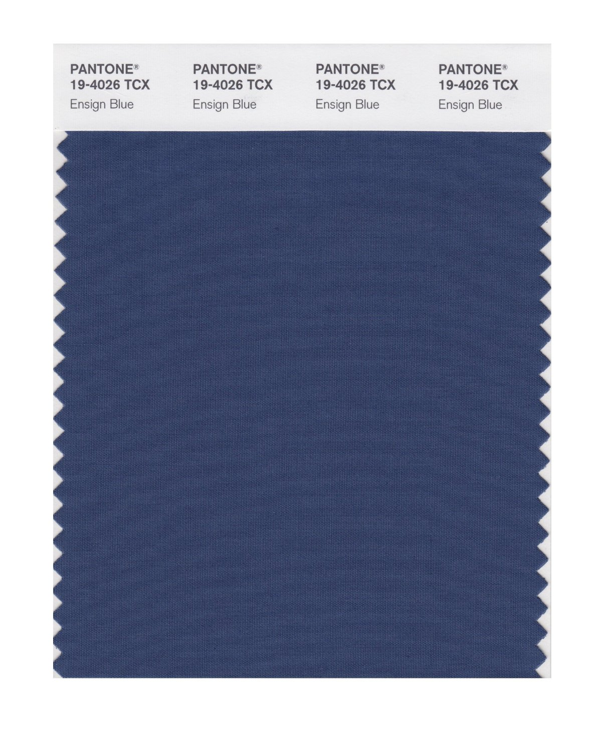 Pantone Smart Swatch 19-4026 Ensign Blue