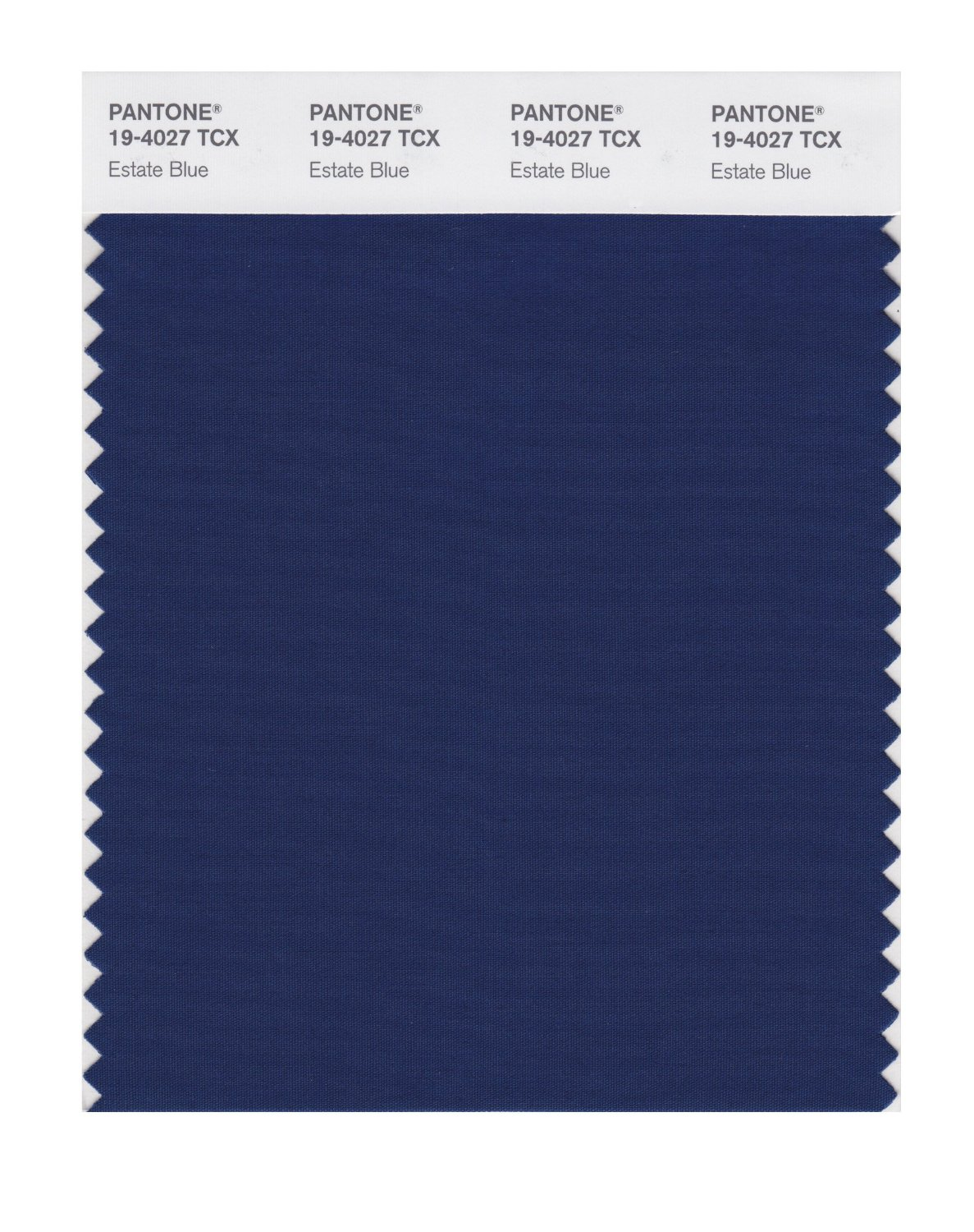 Pantone Smart Swatch 19-4027 Estate Blue