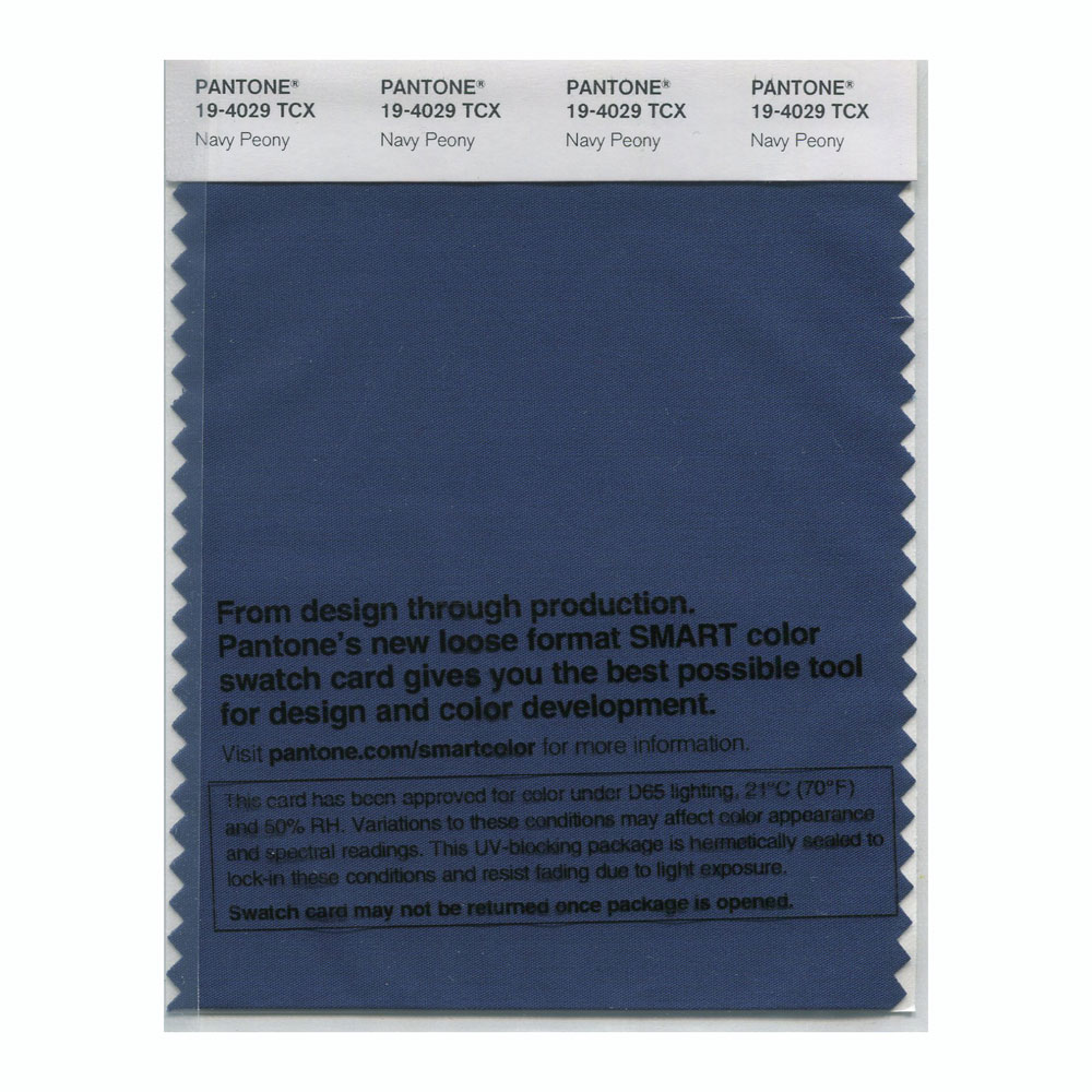 Buy Pantone Smart Swatch 19 4029 Navy Peony