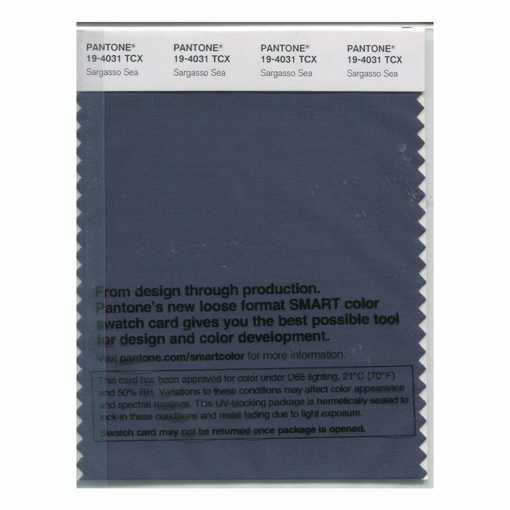 Pantone Smart Swatch 19-4031 Sargasso Sea