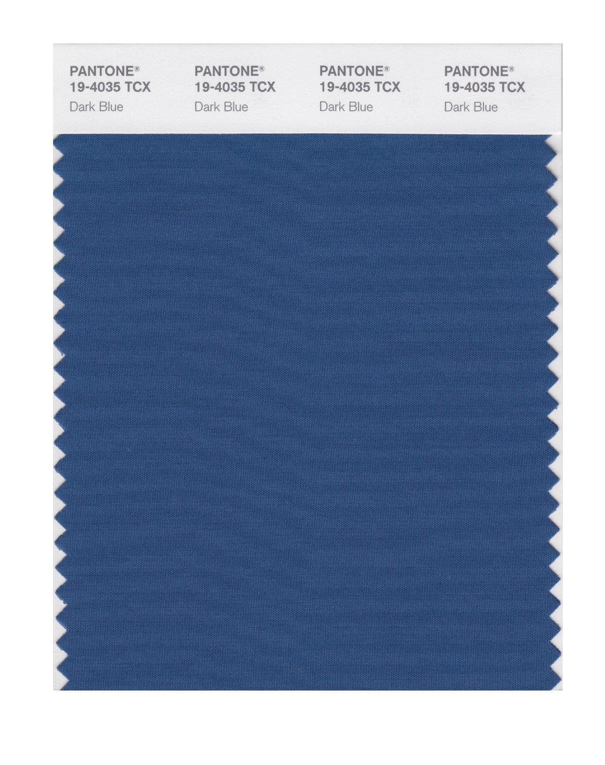 Pantone Smart Swatch 19-4035 Dark Blue