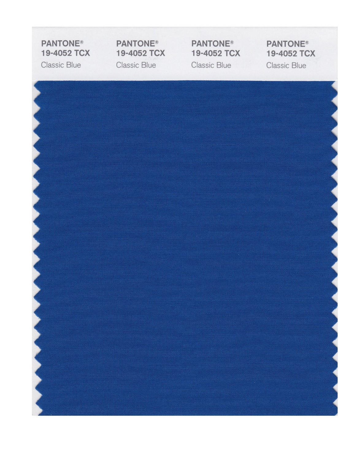 Pantone Smart Swatch 19-4052 Classic Blue