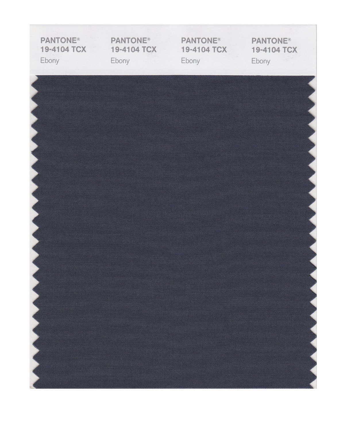 Pantone Smart Swatch 19-4104 Ebony