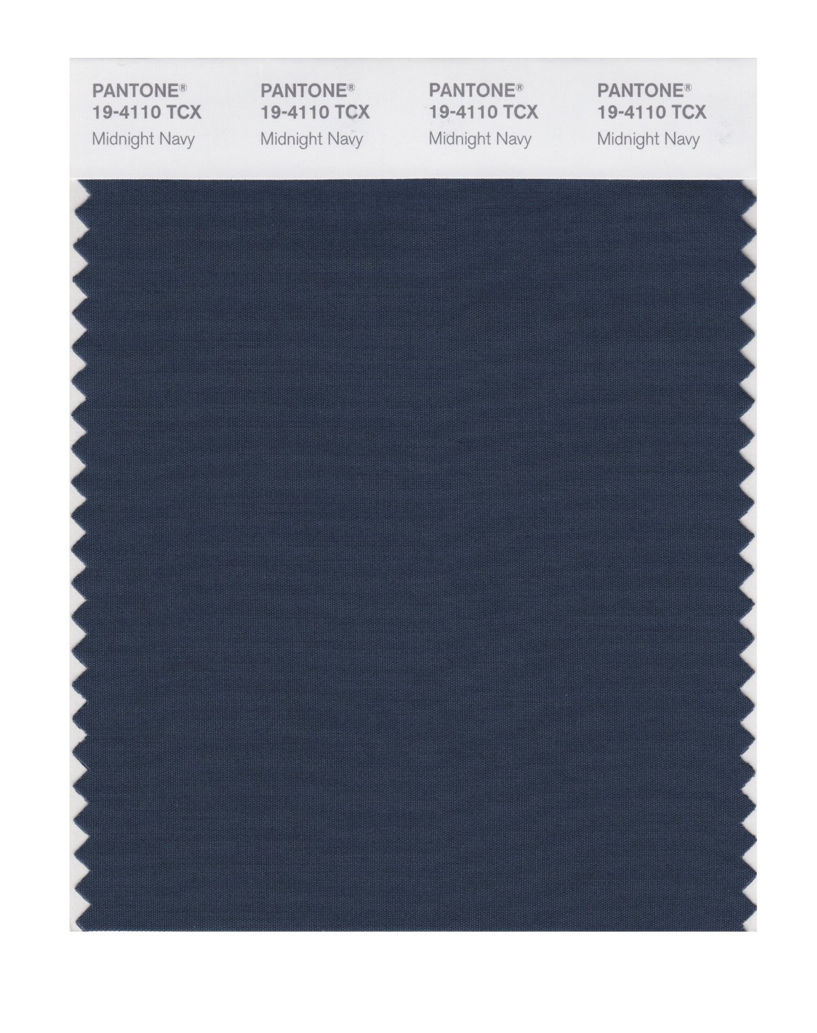 Pantone Smart Swatch 19-4110 Midnight Navy