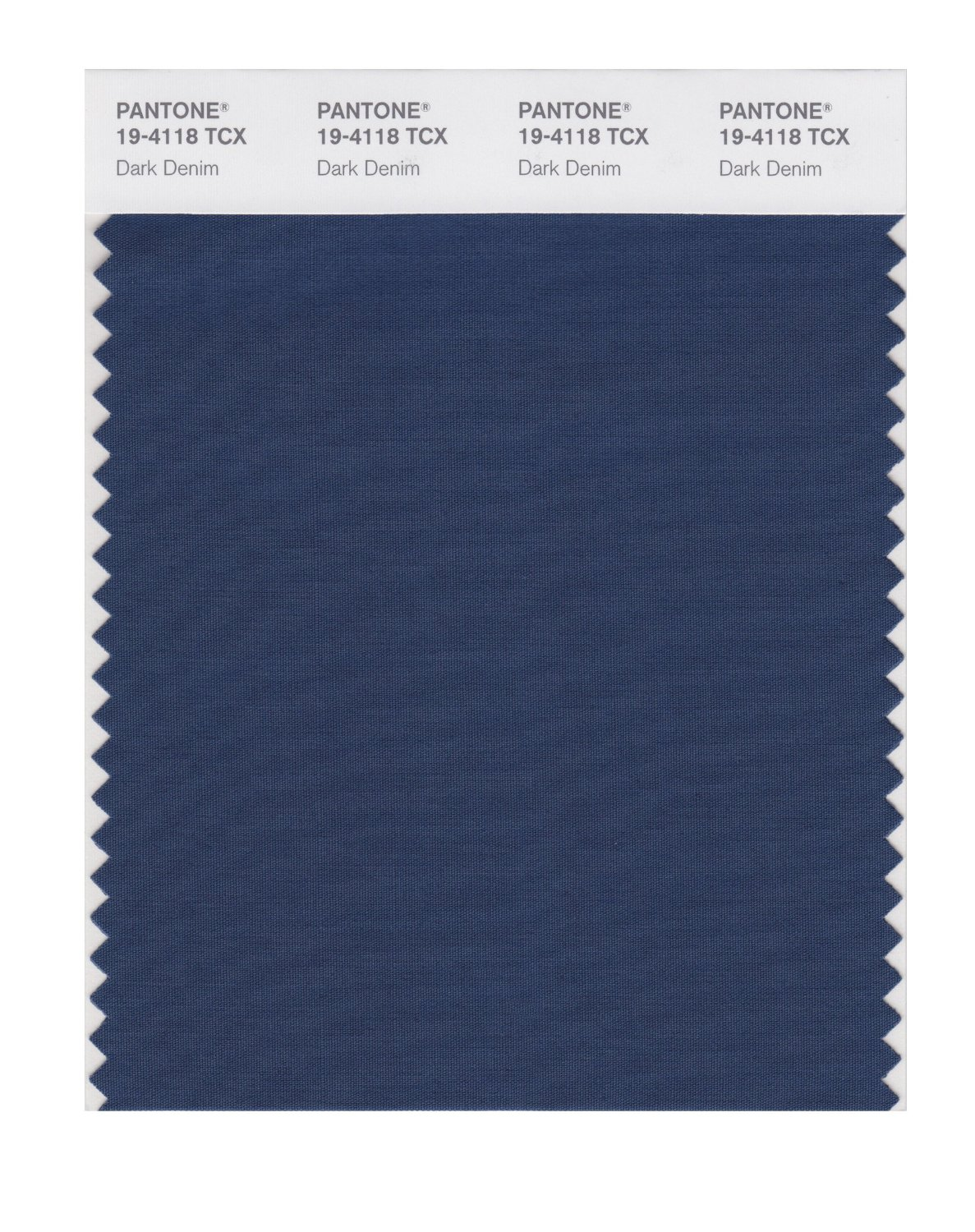 Pantone Smart Swatch 19-4118 Dark Denim