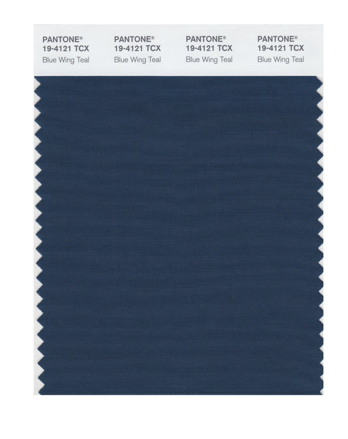 Pantone Smart Swatch 19-4121 Blue Wing Teal